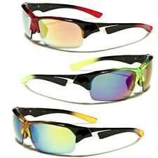 Half Frame Cycling Baseball Water Sport Sunglasses Outdoor Wrap Around Glasses