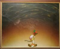 BAKSHI STUDIOS COOL BOB AS CARMEN MIRANDA CEL,PRODUCTION BG 14FLD, MATTED FRAMED