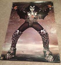 "KISS Gene Simmons The Demon! 24"" x 35"" 1982 ANABAS England #AA069 Vintage"