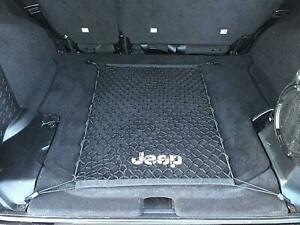 Floor Style Trunk Cargo Net for JEEP WRANGLER Unlimited Utility 4-Door 2007-2020