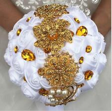 Wedding Supplies Hand Holding Flowers Bride Diamond Bouquet Petals Garlands Hot
