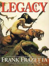 FRANK FRAZETTA: LEGACY:  HARDCOVER BOOK (1999)