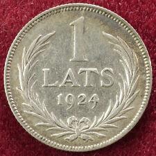 Latvia 1 Lats 1924 (B0502)