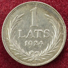 Letonia 1 lats 1924 (B0502)