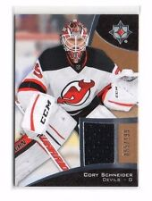 Corey Schneider 2015-16 Upper Deck Ultimate Collection, (Material) 199