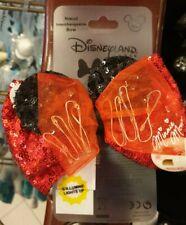 NOEUD INTERCHANGEABLE CLIP MINNIE LUMINEUX / Light-Up Disneyland Paris