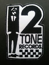 SKA TWO TONE REGGAE MUSIC SEW ON / IRON ON PATCH:- SKA TWO TONE SUITED MAN (d)
