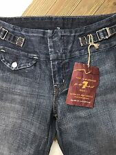 NWT 7 Seven for All man Kind Women's Waistband Jeans Size 24