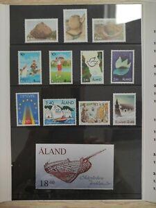 Briefmarken Jahresmappe Aland 1995 postfrisch