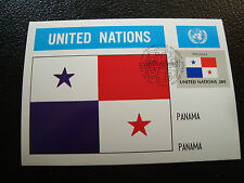 NATIONS-UNIES (new-york) - carte 1er jour 25/9/1981 (cy54) united nations