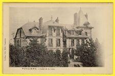 cpa Vue Rare 08 - VOUZIERS (Ardennes) CHALET de la CORRE Château Dos 1900