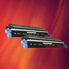2 Black Toner C9730A for HP 5500 5550DN 645A
