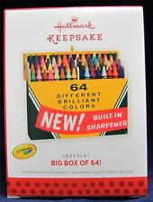 2013 Hallmark Keepsake Ornament Crayola Big Box of 64! NIB