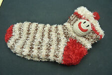 MONKEY NON SKID SLIPPER SOCKS....LADIES SOCK SIZE 9-11
