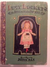 Lucy Locket The Doll With The Pocket, John Rae 1928 - 1st Ed,1st Prtg, H/C Book