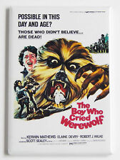 The Boy Who Cried Werewolf FRIDGE MAGNET (2 x 3 inches) movie poster