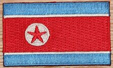 NORTH KOREA Country Flag Embroidered PATCH
