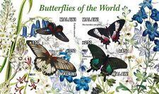 ** Butterflies - s/s  Malawi 2011  mint MNH IMPERF  #C089
