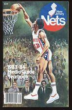 1983/1984 New York Nets NBA Media Guide EX