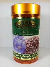 Flaxseed Oil 1000mg 300 Capsules by BH - Omega-3,6,9 - Heart Health
