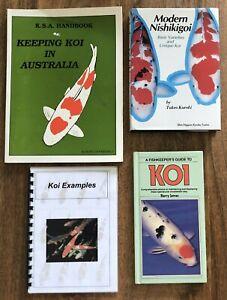 Keeping Koi in Australia Modern Nishikigoi Basic Varieties Anatomy Filters Food