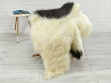 REAL ICELANDIC SHEEPSKIN RUG CHAIR SOFA FLOOR COVER SOFT HIDE SKIN LARGE G240