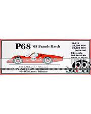 HIRO 1/24 ALAN MANN FORD P68 #34 BRANDS HATCH 1968 McLAREN SPENCE HULME