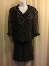 STUDIO C 2pc Suit DRESS Top Skirt  Women's Size 16
