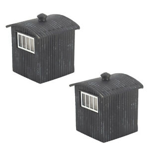 Bachmann 44-114 OO Gauge Great Central Lamp Huts x2