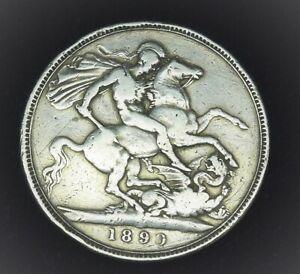 Victoria 1890 crown