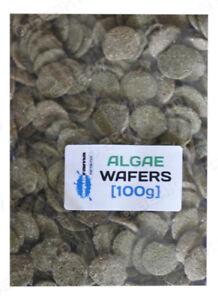 Algae Wafers Tropical Fish Food Aquarama High Quallity Pleco,Catfish etc  [100g]