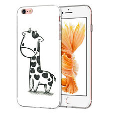 for ZTE Smartphones GEL TPU Soft Cover Case Skin Fashion Design Stylus Giraffe ZTE Blade A512