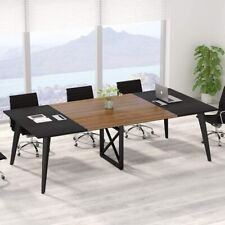 8ft Conference Table945l X 472w Inch Large Modern Meeting Table By Tribesigns