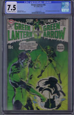 Green Lantern #76 DC 1970 CGC 7.5 (VERY FINE -) CLASSIC Neal Adams Green Lantern