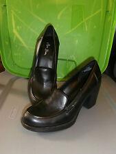 Super! Women's Black Miss Bisou Heel Shoes, Sz 7 1/2 M