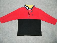 Boy's Tommy Hilfiger Red Pullover Fleece Jacket Size 6