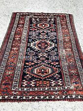 Antique wool hand woven Karaje Rug