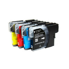 4 NON-OEM INK BROTHER LC51 LC-51 MFC-240C MFC-440CN MFC-5860CN MFC-5460CN 845CW