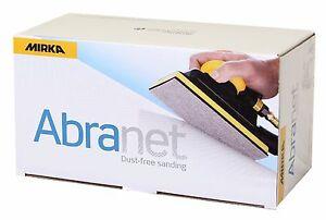 Mirka Abranet sanding strips/sheets 81 x 133mm - Various size packs