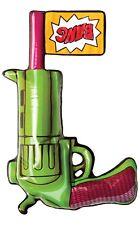 Inflatable Blow Up Joker DC Comic Gun Fancy Dress Costume Outfit Accessory Prop