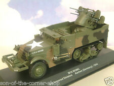 EAGLEMOSS 1/43 DIECAST US ARMY M16 MGMC HALF TRACK 3RD ARM. DIV. GERMANY 1944