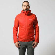Montane Mens Atomic Outdoor Jacket Top Orange Sports Outdoors Full Zip Hooded