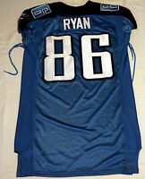 #86 Sean Ryan of Tennessee Titans NFL Game Issued Jersey