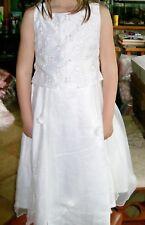robe ivoire 6 ans cérémonie mariage princesse deguisement