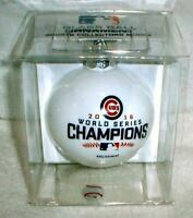 CHICAGO CUBS 2016 WORLD SERIES CHAMPS CHAMPIONS Christmas Ornament GLASS BALL