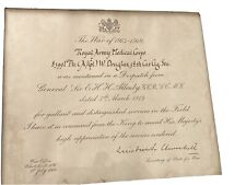 Winston Churchill Autograph, Royal Army Medical Corps, W.Douglas, Gen Allenby