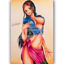 Nico Robin Sexy One Piece Custom Silk Poster Wall Decor 20x13 Inch