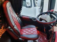 Sitzbezüge LKW Volvo FH4(16) Kunstleder/ Kunstleder Ab BJ. 2013 Bordo