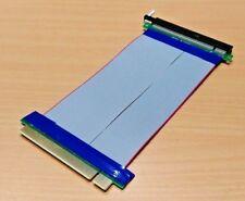 PCI-e PCIe 16X PCI Express Maschio a Scheda Riser Extender Donna Cavo Adattatore 15cm