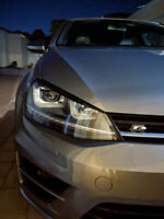 Volkswagen VW Golf 7 (VII) MK7 Scheinwerferblenden Böser Blick Blende